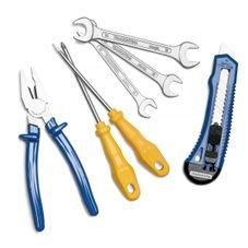 kit ferramentas tramontina 7pcs estojo
