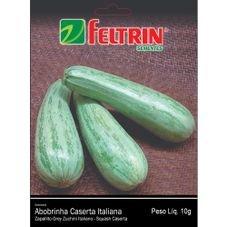 semente abobrinha caserta italiana 10g feltrin