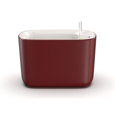 vaso autoirrigavel botanika pequeno vermelho