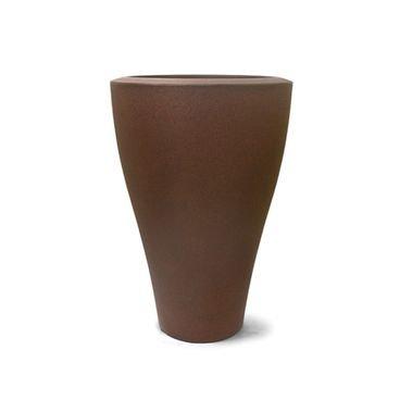 vaso ming conico ferrugem n67