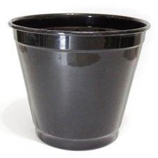 cachepot balde grande preto
