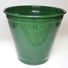 cachepot balde grande verde escuro