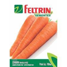 semente cenoura brasilia feltrin