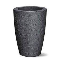 vaso grafiato conico preto