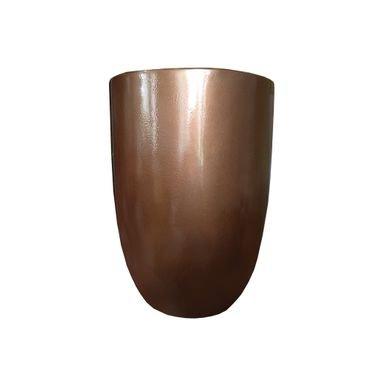 vaso fibra de vidro laranja bronze verona 44p a60 verona44p63 rotogarden