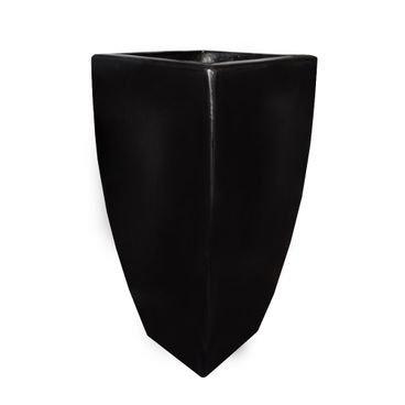 vaso fibra de vidro preto siena a71 sienam10 rotogarden