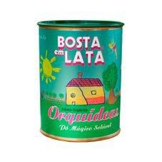 adubo organico bosta em lata orquideas 400g