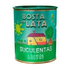 adubo organico bosta em lata suculentas e cactos 400g