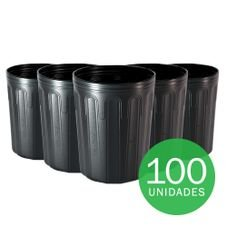 embalagem mudas 10 litros preto 100 unidades