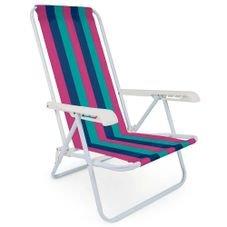 cadeira reclinavel 4 posicoes 2004 mor azul rosa verde