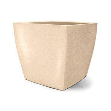 vaso plastico quadrado areia 40