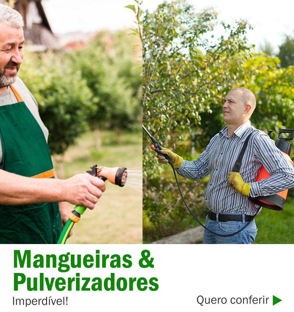 banner triplo mangueira pulverizadores