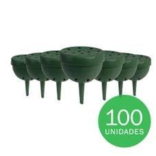 porta adubo plastico verde 100un