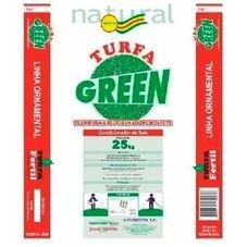 fertilizante turfa green 25kg grama