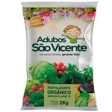 fertilizante organico sao vicente 2kg