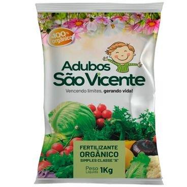 fertilizante organico sao vicente 1kg