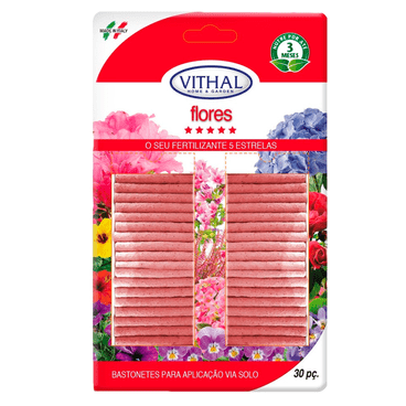 bastonete flores vithal