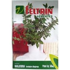 semente verdadeira manjerona 50mg feltrin