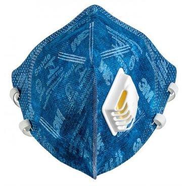 mascara de protecao pff2 3m azul c valvula
