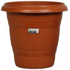 vaso redondo n35 rischioto marrom
