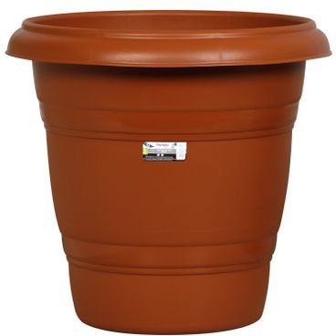 vaso redondo n42 rischioto marrom