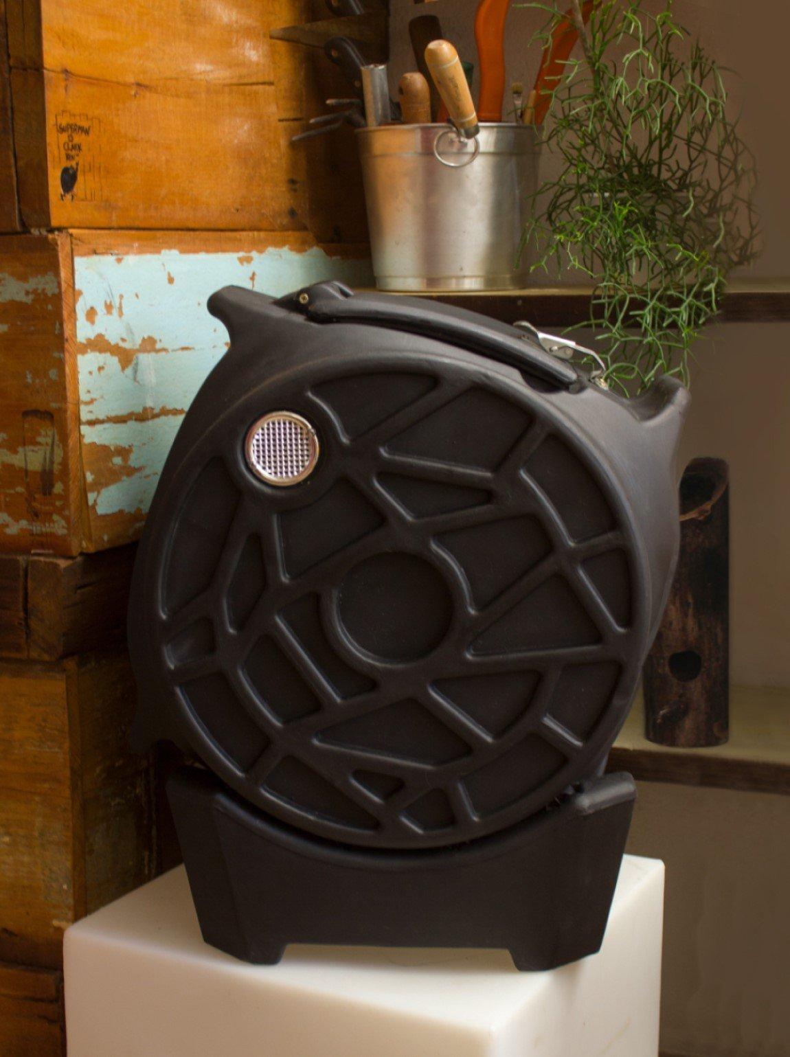 composteira rotativa usare preta interna