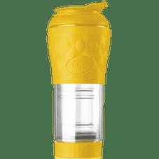 cafeteira portatil pressca amarelo