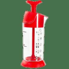 espumador de leite pressca vermelho