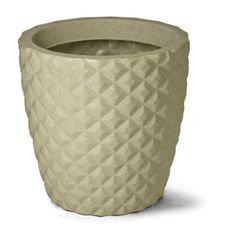 vaso diamante redondo 24 nutriplan areia
