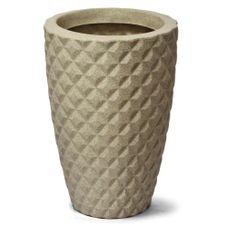 vaso diamante conico 38 nutriplan areia