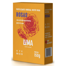 fertilizante luma rosas 150 g