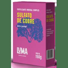 fertilizante luma sulfato de cobre 150 g
