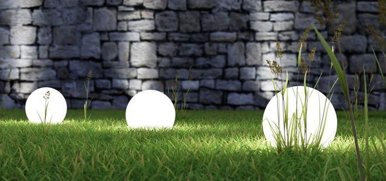 Conheça opções em objetos para iluminação do seu jardim