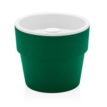 vaso autoirrigavel ou verde botanica