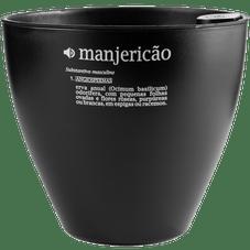 vaso autoirrigavel plantie manjericao