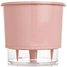 vaso raiz rosa quartz