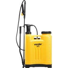 pulverizador costal 20 litros vonder frente