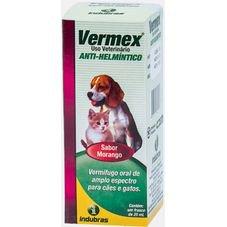 vermex vermifugo indubras 20 ml