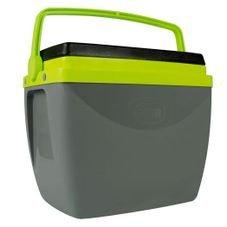 caixa termica mor cinza verde nova