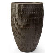 vaso polietileno bambu oval carvalho nutriplan